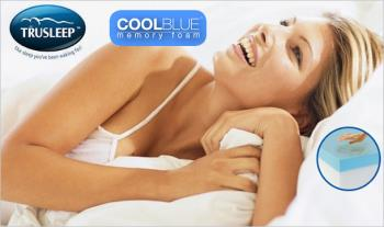 €259 for either a Single, Double, King or Super King Trusleep Ortho COOLBLUE™ Memory Foam Mattress, worth up to €1170, delivered!