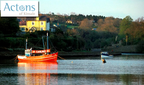 120 for a 2 Night Midweek Stay for Two in a Harbour View room including Breakfast and 2 Course Dinner on an evening of your choice at the newly refurbished 4 Star Actons of Kinsale