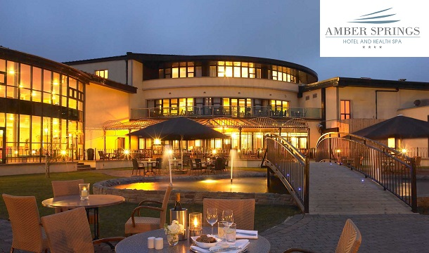 2 Nights B&B for 2 with dinner at the 4* Amber Springs Hotel & Health Spa, Wexford