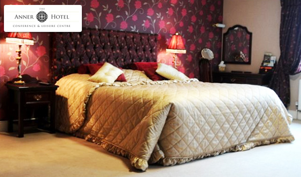 €65 for 1 Night or €99 for 2 Nights for Two, Including Breakfast, a 2 Course Evening Meal and Late Check Out at The Anner Hotel, Thurles