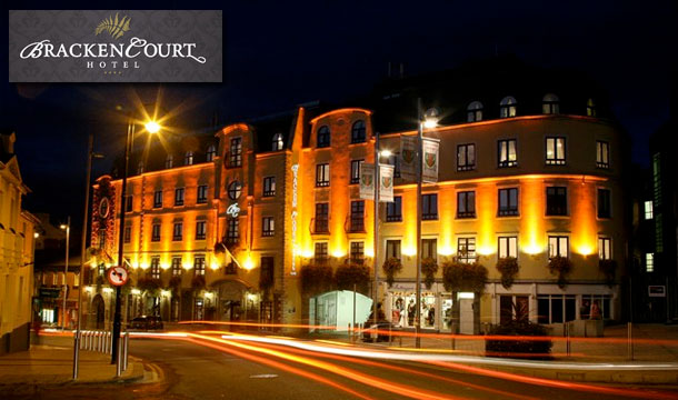 2 Nights B&B for 2 with Welcome Drink & Dinner at the Bracken Court Hotel, Dublin - Kids Stay Free