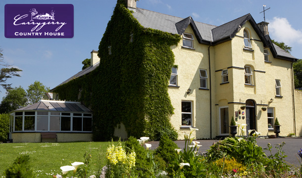 Carrygerry Country House: 1 or 2 Nights B&B for 2 with Hot Chocolate and cookies on arrival, glass of wine and Late Check Out