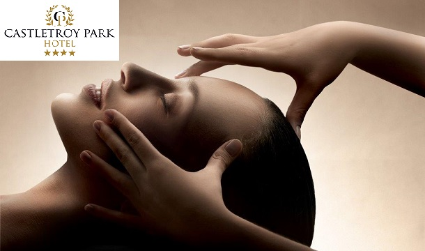 Castletroy Park Hotel: €55 for Massage, Afternoon Tea and More at Beauty Rooms at the Castletroy Park Hotel, Limerick