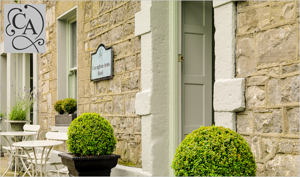 Conyngham Arms: 1 Night B&B Stay for Two including dining discount and more at the Conyngham Arms Hotel, Slane