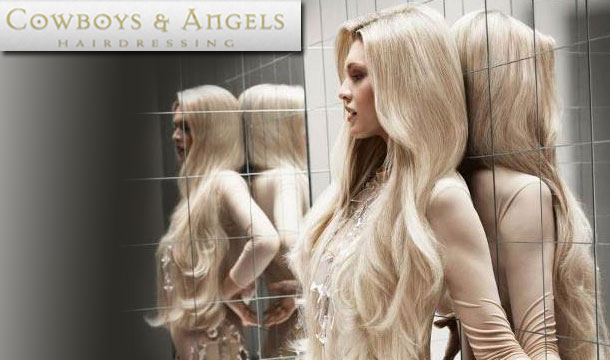 Midweek Special: €40 for a Wash, Cut & Blow Dry, including a Nourishing Hair Conditioning Treatment PLUS €20 off your next visit at Cowboys and Angels, D2