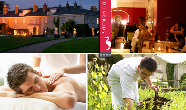 €150 voucher to spend at Dunbrody House Hotel for just €90  - Valid for Restaurant, Cookery school, Hotel or Spa!