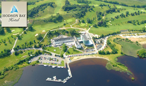 €89 for 1 Night or €145 for 2 Nights for 2 in a Lake View Room including Breakfast, €20 Dining Credit, 15% Spa Discount, a Cocktail on Arrival plus Late Checkout at the 4-Star Hodson Bay Hotel, Athlone, Co. Westmeath