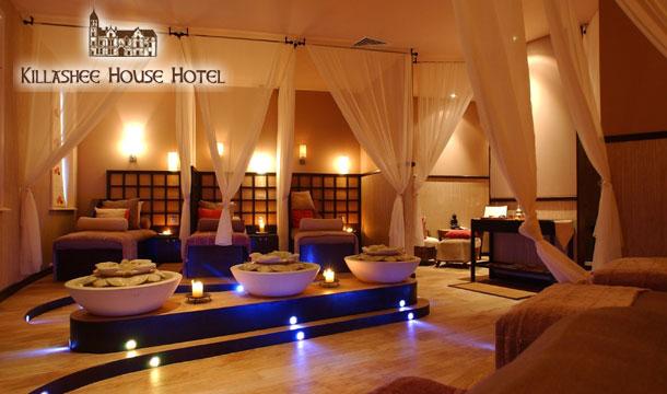 A Spa Indulgence Experience at The Villa Spa, Killashee House Hotel, Naas, Co. Kildare
