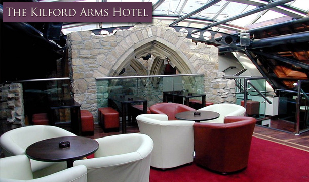 The Kilford Arms Hotel: 1 Night (€59), 2 Nights (€99) or 3 Nights (€119) B&B for 2 at The Kilford Arms Hotel, Kilkenny