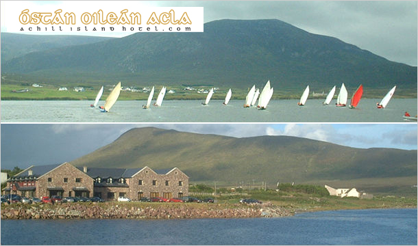 Achill Island Hotel: 2 Nights Stay for Two including Breakfast at the spectacular Achill Island Hotel, Mayo