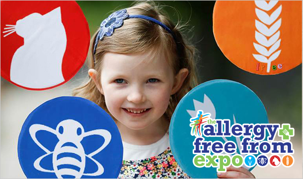 The Allergy & Free From Expo: 2 Tickets to the Allergy & Free From Expo at the RDS in Dublin or  at City Hall in Cork