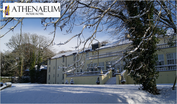 Athenaeum House Hotel: 1 or 2 Night B&B for 2 with Welcome Treat and Dining Credit at the Athenaeum House Hotel