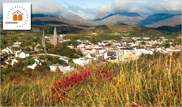 The Clifden Station House Hotel: 1 or 2 Nights B&B with Late Checkout at The Clifden Station House Hotel, Connemara, Galway