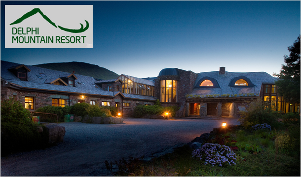 Special Adventure Break: €279 instead of €564 for 2 Nights stay for Two in a luxurious Loft Room including Full Irish Breakfast, a 3 Course Dinner for Two & a Full Day of Adventure Activities at the Delphi Mountain Resort, Connemara, Co. Galway
