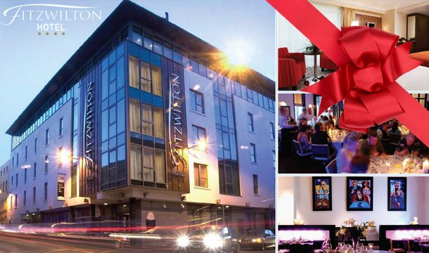 The Fitzwilton Hotel: 1 or 2 Nights B&B for 2 with Dining Credit & Late Checkout at the Fitzwilton Hotel in Waterford