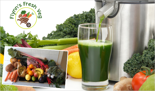 Flynns Fresh Fruit & Veg: 50% off for 4 Weekly Fruit & Vegetable Juicing  Boxes from €30 Delivered by Flynn's Fresh Veg