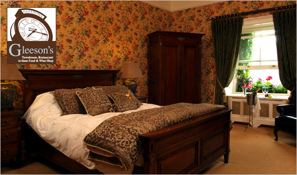 Gleeson's Townhouse: 1 Night Stay for 2 with B&B, Dinner and More at Gleeson's Townhouse, Roscommon