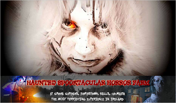 Grove Gardens Haunted Spooktacular: 2 Tickets to the Haunted Spooktacular Horror Farm this Halloween in Kells, Co. Meath