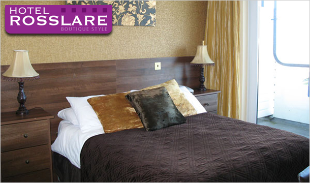 Hotel Rosslare: 1 or 2 Nights for 2 with Chocolates, Wine, Dining Credit & Late Checkout at Hotel Rosslare, Wexford
