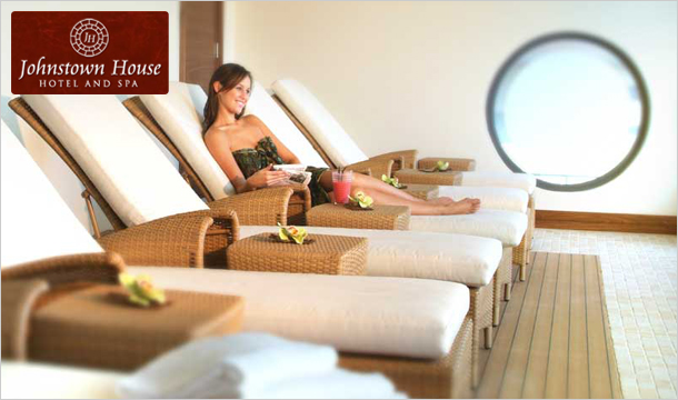 Johnstown House Hotel & Spa: €150 voucher for The Spa at the 4* Johnstown House Hotel