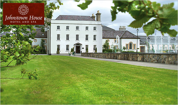 1 Night B&B for 2 with Spa & Dining Credit at Johnstown House Hotel & Spa, Meath