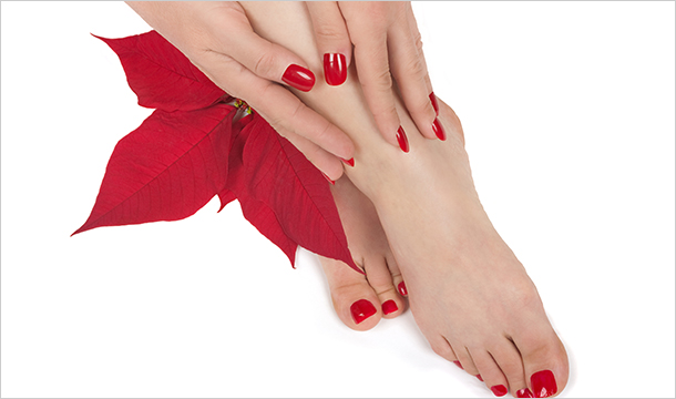 La Que Boutique Salon: 1 or 3 Sessions of Shellac from €13 or a VIP Pedicure and Manicure for €49 at La Que Boutique, D1