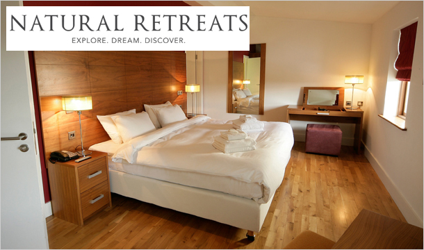Self-Catering by Natural Retreats at Castlemartyr Resort: 2, 3, 4, 5 or 7 Nights Self-Catering Stay for up to 4 People at the Luxurious 5* Castlemartyr Resort