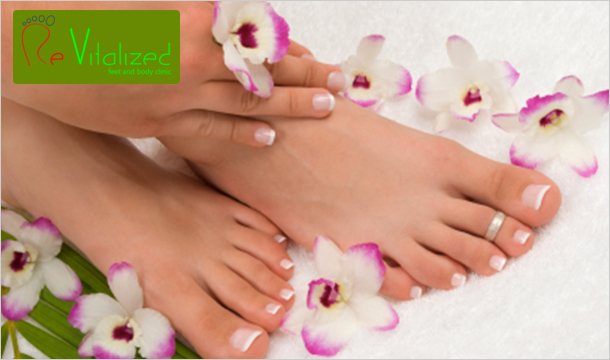 Revitalised Feet & Body Clinic: €39 for Luxury Foot Pampering at at Revitalized Feet & Body Clinic  - 2 Dublin Locations