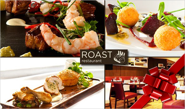 Roast Restaurant: Ballsbridge Hotspot, Roast Restaurant, with a 5 Course Tasting Menu for 2 for €49 or €98 for 4