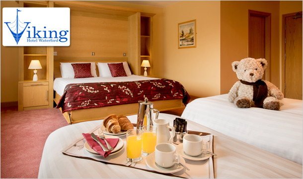 Viking Hotel: 1, 2 or 3 Nights B&B Stay for 2 with Late Checkout at the Viking Hotel, Waterford City