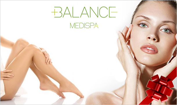 Balance Medi-Spa: €50 for a €100 Voucher to spend at Balance Medi Spa Dublin or Navan - The Perfect Christmas Gift