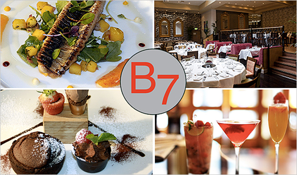 Brasserie 7: €15 for 2 Course Lunch for 2 or €19 including Two Glasses of Wine  at Brasserie 7