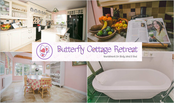 Butterfly Cottage Retreat: 2 Night Stay Healthy Cookery, Nutrition and Relaxation Weekend at Butterfly Cottage Retreat