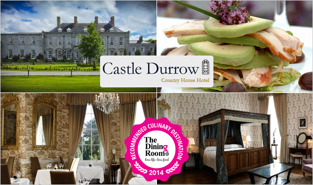Exclusive Culinary Break 1-Night Stay plus a Tasting Evening for 2 at Castle Durrow, Laois from only €200