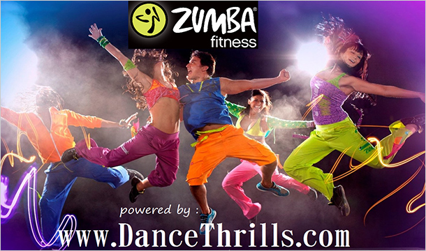 Dance Thrills: €15 for 4 Zumba Dance Lessons in Several Locations in Dublin