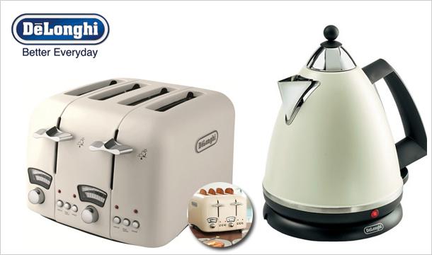 Briscoes.ie: De'Longhi Kettle & Toaster