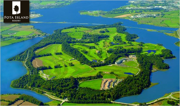 1 or 2 Nights B&B for 2 including VIP Spa Passes at Fota Island Resort, Cork