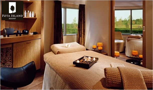 €99 instead of €199 for a Luxury Pampering Package with 20% Off Beauty Products at the Stunning 5-Star Fota Island Resort, Co. Cork