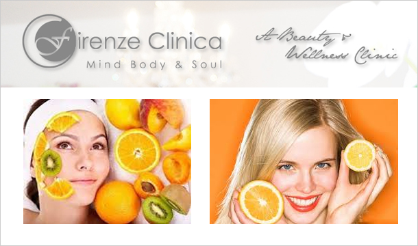 Firenze Clinica: €35 for Brand New Vitamin C Infusion Facial, €59 including Jet Peel at Firenze Clinica, Dundrum