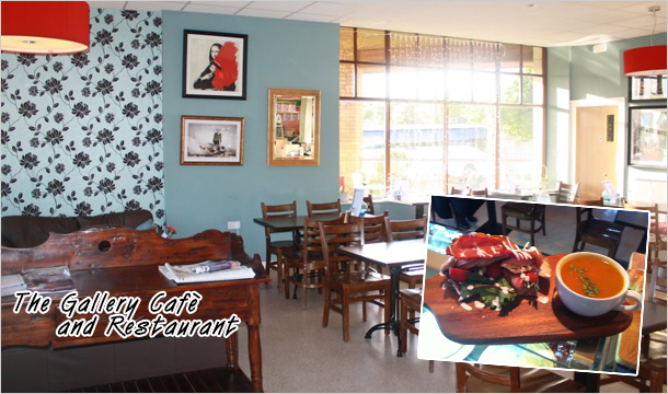 The Gallery Cafè and Restaurant: Enjoy a Brunch or Lunch for 2 with Tea or Coffee at The Gallery Cafè & Restaurant, Drumconda