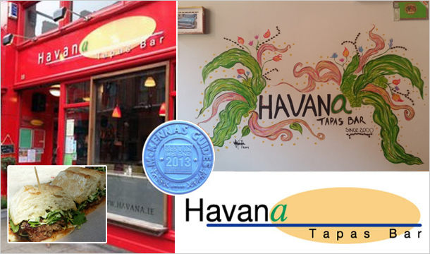 Havana Tapas Bar: Weekend Brunch  for 2 with a choice of Mimosa or Pink Mojito for €20 at Havana Tapas Bar, D2
