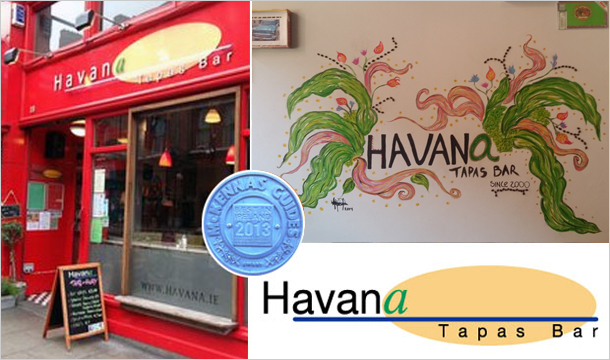 Havana Tapas Bar: Brunch for 2 with a choice of Mimosa or Pink Mojito for €20 at Havana Tapas Bar, D2