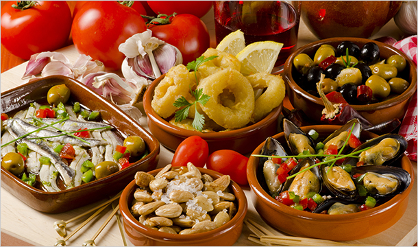 Marias Spanish Restaurant: Tapas with Wine from €19 at Marias Spanish Restaurant, Drogheda