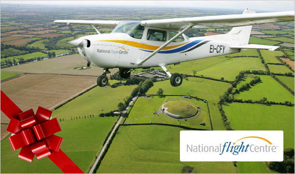 National Flight Centre: Flying Lesson Experience, incl. Video & Flight Certificate from €89