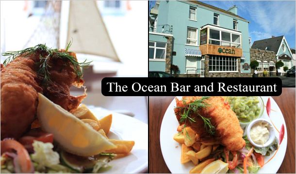 The Ocean Bar and Restaurant: 3 Course Meal for 2 at Ocean Restaurant & Bar in the beautiful fishing village of Dunmore East
