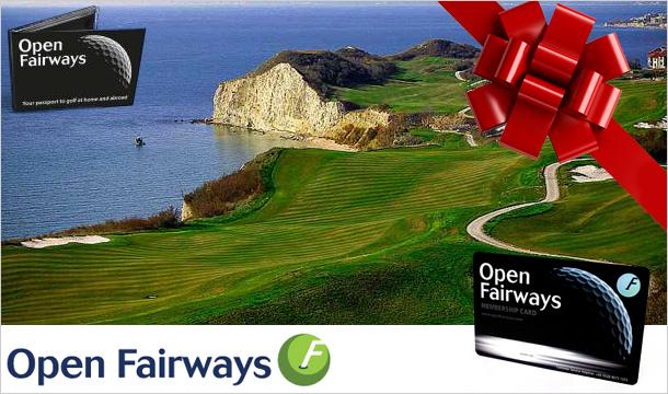 Open Fairways: Open Fairways Privilege Card - 12 months Membership for half price golf with Open Fairways!