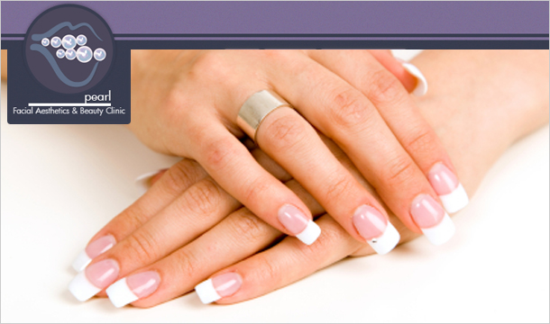 Pearl Treatments: Deluxe Manicure & Deluxe Pedicure At Pearl Treatments D2 (value up to €100)