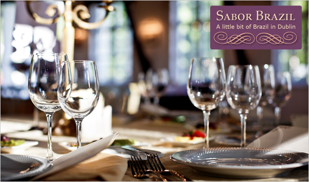 Sabor Brazil: Weekends  at Sabor Brazil; Exclusive 7 course tasting menu ONLY €119 for 2 Normally €200