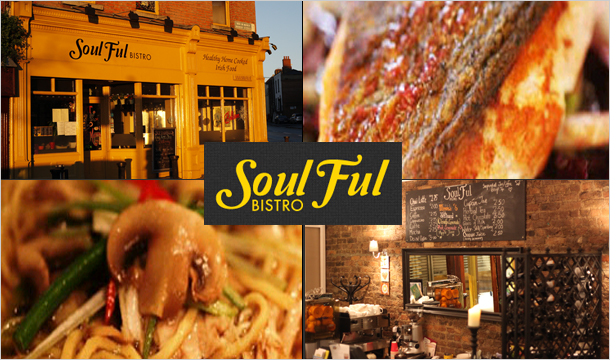 €19 for a €40 voucher to spend on food and drink at Soulful Bistro, Dublin 7