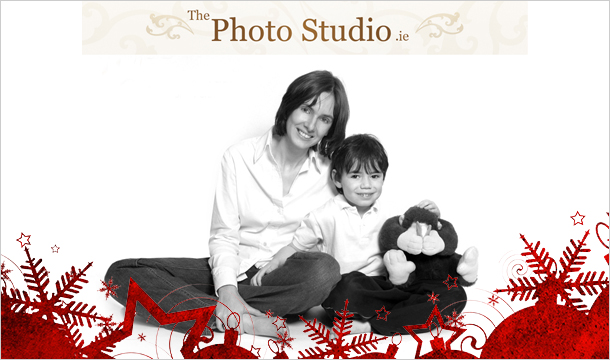 "The Photo Studio: 1-Hour Studio Photoshoot, 12""x16"" Stretched Canvas from The Photo Studio only €19"